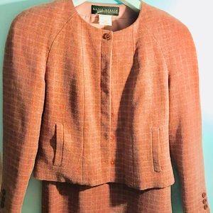 A Harve Bernard suit, jacket and skirt.